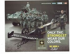 Tony Schumacher Signed Autographed Racing Photo Promotional Advertising Card