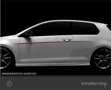 Beltline f. Audi A1 s-line sline Streifen Stripes Kotflügel S1 quattro Tuning