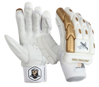 SFC Players Gold Edition Cricket Batting Gloves ** LEFT HAND | FREE SHIPPING **