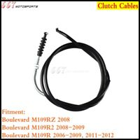 Black Motorcycle Clutch Cable Wire For Suzuki Boulevard M109R VZR1800 Z M109R2