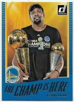 2017-18 Donruss The Champ is Here #1 Kevin Durant - Golden State Warriors