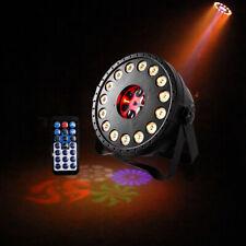 LED RGB Par Projektor Licht DMX Disco DJ Show Party Bühnenlicht Fernbedienung DE