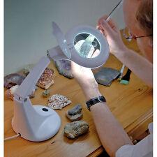 Draper Fluorescent Magnifying Magnifier Jewellers Lamp Light  12W 230V 05718