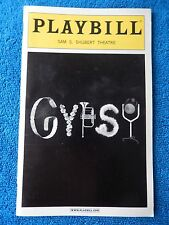 Gypsy - Sam S. Shubert Theatre Playbill - October 2003 - Bernadette Peters