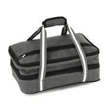 Hot/Cold Thermal Bag Insulated Expandable Double Casserole Carrier