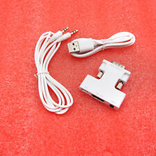 1pcs New HDMI Female to DVI Male Adapter Connector Converter cable white