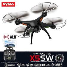 Syma X5SW RC Quadcopter Drone Wifi FPV 2MP HD Camera 2.4G 4-CH 6-Axis RTF UFO