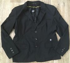 LISA HO LADIES SIZE 18 BLACK SUIT JACKET BLAZER ~ EUC