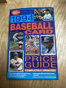 1994 Sports Collectors Digest Baseball Card Price Guide 8th Edition Softcover