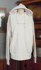 NWT Empolham Mens Creamy White Sweatshirt Hoodie Size 95 Medium Cotton