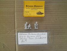 20mm ( 1/76 ) scale Britannia Miniatures Wwi German Hvy Mortar Team