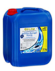 Geschirr-Reiniger Geschirrreiniger flüssig GV-Line 12kg Assindia