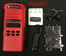 Motorola HT1250, LS, LS+ limited keypad refurb housing complete in (RED)