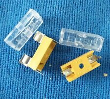 10pcs Fuse Holder with Transparent lid 5X20 FUSE Glass / Ceramic tube fuse box