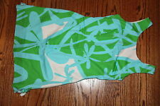 Lilly Pulitzer Dragon Fly Multi-Color Green Bean All Lit Up Delia Shift Dress 0