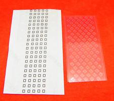 5 x für iPhone 4 Annäherungssensor UV Filter Proximity Licht Sensor Sticker