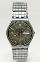 Orologio Swatch needles GB408 vintage watch 1988 men's clock rare montre swatch