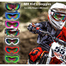 100% New Youth MX Dirt Bike Kids Children Boys Girls Racing Motocross Goggles