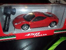 1/14 Scale REMOTE CONTROL CAR MJX R/C Ferrari 458 Italia Red Battery Operated