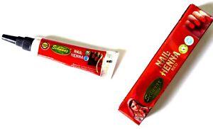 # 3 Pcs. Vimal's Sehnaaz Instant Red Nail Henna Mehandi Tube