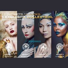 HUNGER GAMES Cover Girl Catching Fire THE DISTRICT LOOKS Collectors Booklet