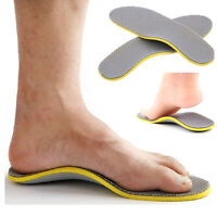 Unisex Memory Foam Insoles Inner Running Sole Slippers Shoe-pad Foot Pad S/L New