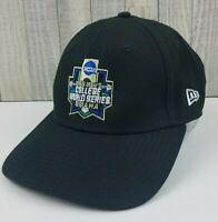 New Era NCAA 2018 Men's College World Series OMAHA Hat Cap Black Strapback