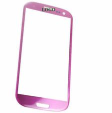 Samsung Galaxy S3 i9300 Pink Glas Glass Scheibe Front Touch Touchscreen