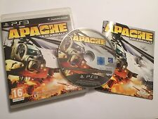 Playstation 3 PS3 Spiel Apache Air Assault + Box & Anleitung komplett PAL VGC