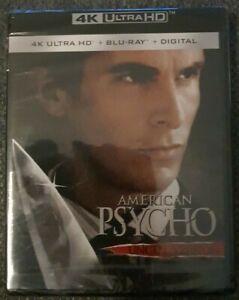 American Psycho Uncut Version 4K + Blu-ray (2 Disc Set) Brand New Sealed