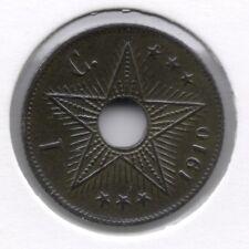 1 cent 1910 * F D C * BELGISCH CONGO - ALBERT I * nr 7420
