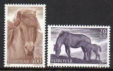 Faroe Islands MNH 1993 SG243-44 Horses