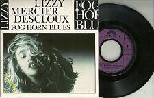 """Lizzy Mercier Descloux - Fog Horn Blues +2  FRANKREICH 7"""" EP (1986)"""