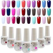 NOBILE Nails Gel UV Gel Nail Art Nails Gel Nail Polish Base Top UV Gel Nails 8ml