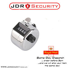 High Quality Hand Held Clickers - Chrome number people Tally Counter