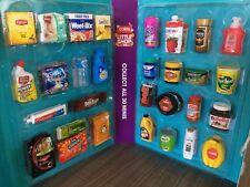 Collectors Folder / Case ~ Coles Little Shop ~ INCLUDES Complete Set of 30 Minis