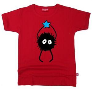 Stardust Kids Childrens Spirited Away Spider Soot Sprite Susuwateri T-SHIRT
