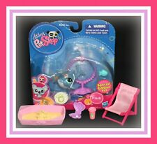 ❤️NEW Littlest Pet Shop LPS #1603 DOLPHIN Special Edition Flower Accessory NIB❤️