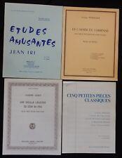 Lot (n°1) Partitions x4 recueils (PIANO) Petites pièces, Etudes .. (débutant)