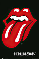 "THE ROLLING STONES - MUSIC POSTER / PRINT (TONGUE / LOGO) (SIZE: 24"" x 36"")"