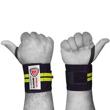 Wrist wraps power lifting sports Gym training hand bar support straps bandage BY