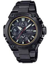*BRAND NEW* Casio Men's MRG Flagship Black Metal Solar Chrono Watch MRGB1000B-1A