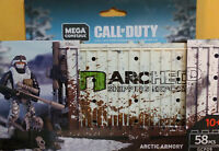 Mega Construx Call Of Duty Arctic Armory (GCP09) 58 Pcs New
