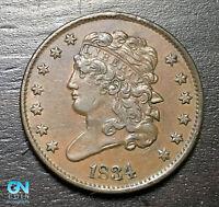 1834 Classic Head Half Cent --  MAKE US AN OFFER! #B6381