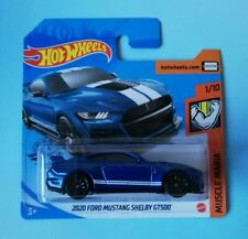 2020 Ford Mustang Shelby GT500 Hot Wheels 2020 Case Q Muscle Mania 1/10 Mattel