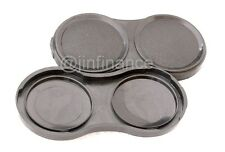 2x TLR bay I 1 lens cap for Rollei Rolleiflex T MX Yashica 124 Minolta autocord