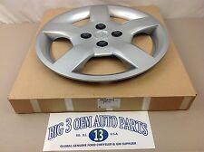 2009-2010 Pontiac G5 Steel Wheel Silver Painted CENTER HUB CAP new OEM