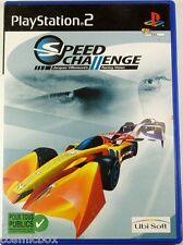 SPEED CHALLENGE Jacques Villeneuve's - jeu de course pour PlayStation 2 Sony PS2