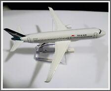 16CM AIRBUS A320 SILK AIRLINES AIRPLANE AEROPLANE METAL PLANE MODEL SINGAPORE