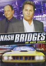Nash Bridges : The Sixth Season 6 Don Johnson New Sealed 5-Disc-Set Dvd